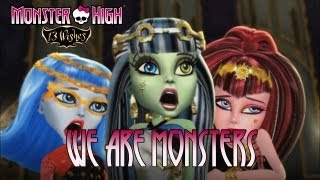 Monster High 13 Wishes Wii / Wii U / NDS / N3DS We Are