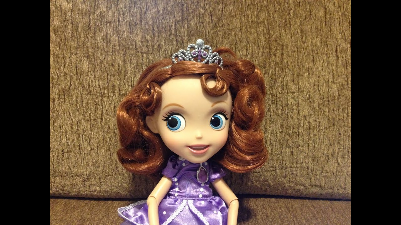 Disney Jr Sofia The First Princess Doll 10 Just Play | eBay