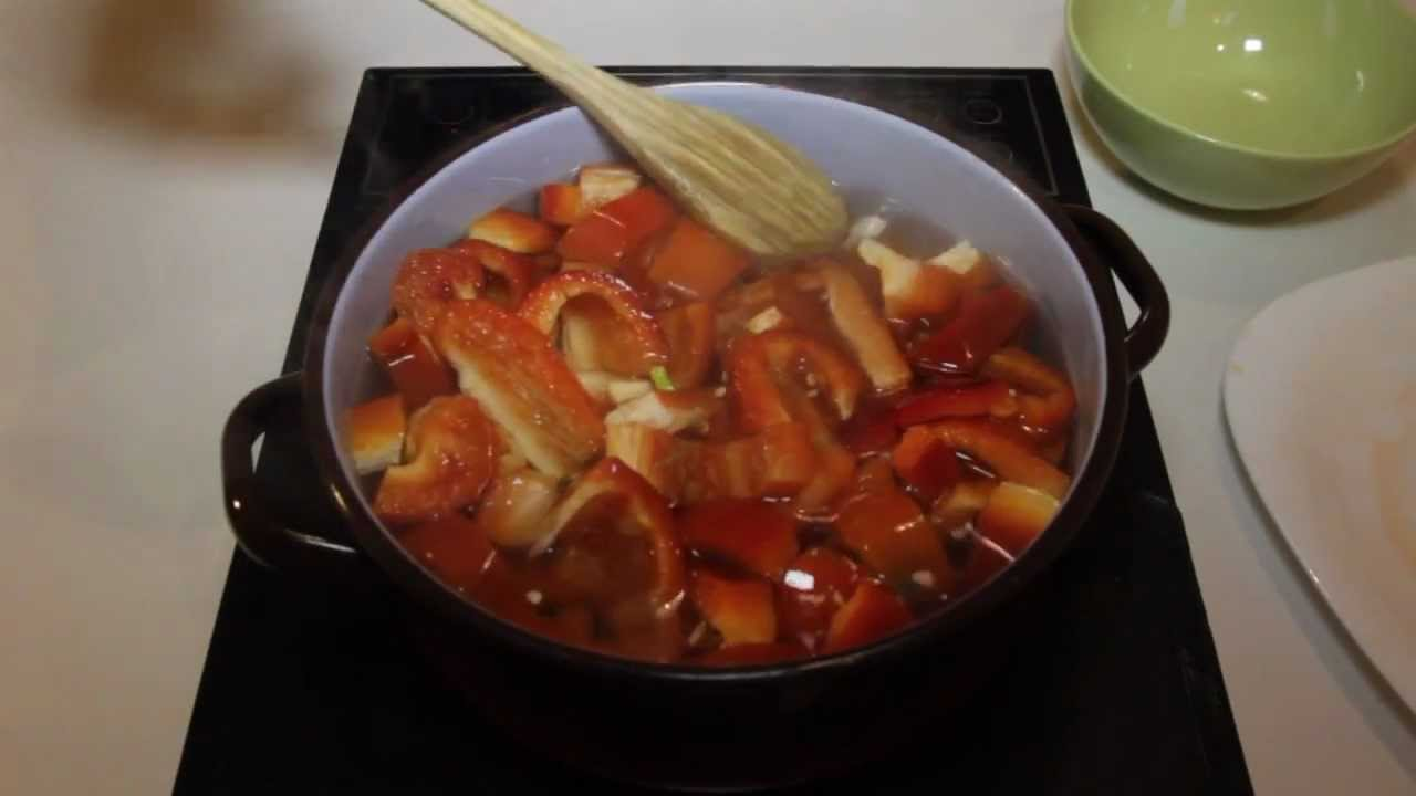 Mermelada de pimientos rojos youtube - Mermelada de pimientos rojos ...