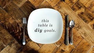 WE DIY'D THIS PINTEREST DREAM TABLE