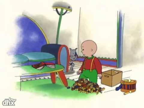 Desenho Animado: Caillou Faz Bolinhos