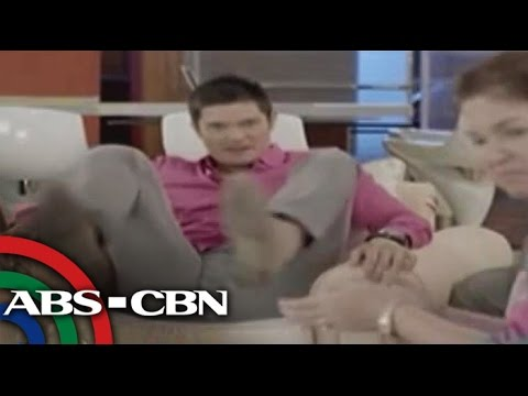 Bea, Dingdong in 'She's The One' bloopers