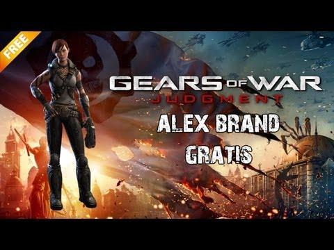Gears of War Judgment: ¡¡Alex Brand Gratis/Free!!