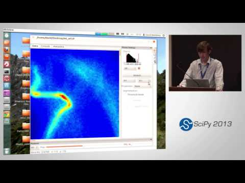 Image from Breaking the diffraction limit with python and scipy; SciPy 2013 Presentation
