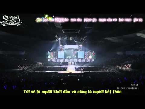 [SJF Vietsub + kara] Super Junior - Super Show 3 in Japan - Wonder boy (OFFICIAL)