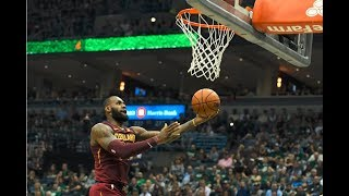LeBron James And Giannis Antetokounmpo Duel in Milwaukee   October 20, 2017
