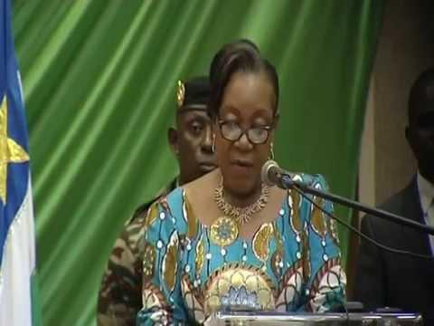 Marking 100 days-President Catherine Samba-Panza
