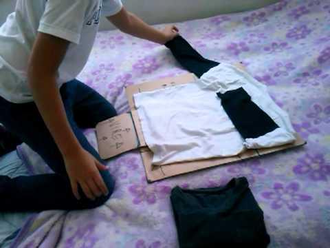 Maquina de dobrar roupa