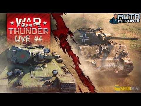 LIVE - War Thunder Tanks #4