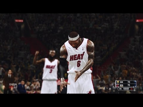 NBA Miami Heat VS Indiana Pacers 2014-04-11