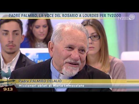 Padre Palmiro, la voce del Rosario a Lourdes per TV2000