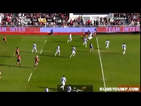 Tries in France 2011 2012 day 21 Toulon - Racing Metro