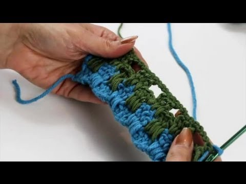 How to Crochet a Boucan Stitch : Crochet Stitches - YouTube