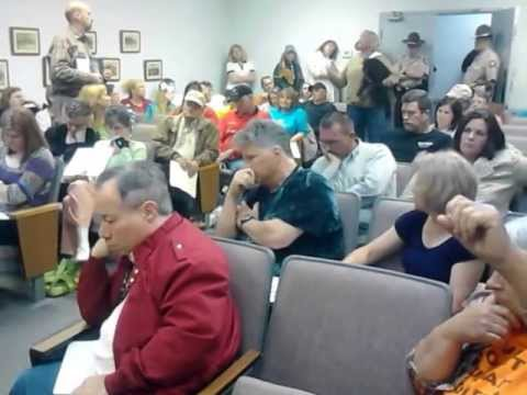 Murray County Meeting re Transfer of Animal Control (see instead video referenced in Description)
