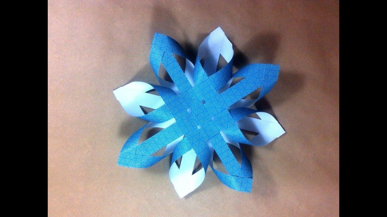 C mo hacer una estrella de navidad finlandesa de papel - Como hacer estrellas de navidad ...