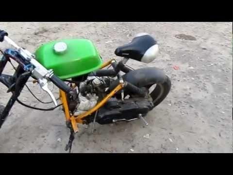 Мини мотоцикл своими руками