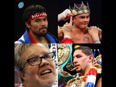 ROACH CALLS OUT MARCOS MAIDANA AND DANNY GARCIA!!!