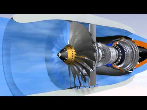 How does a CFM56-7B work ?