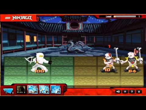 Lego Ninjago- Spinjitsu Smash- Online Game