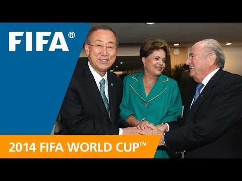 Ban Ki-Moon: Soccer has a dynamic power to unite