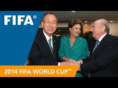 Ban Ki-Moon: Soccer has a dynamic power to unite
