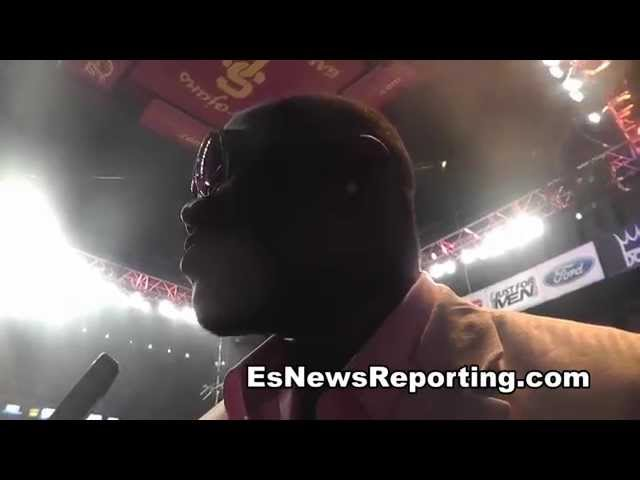 deontay wilder: if i fight stiverne i will KO him EsNews Boxing