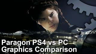 Paragon - PS4 vs PC Graphics Comparison