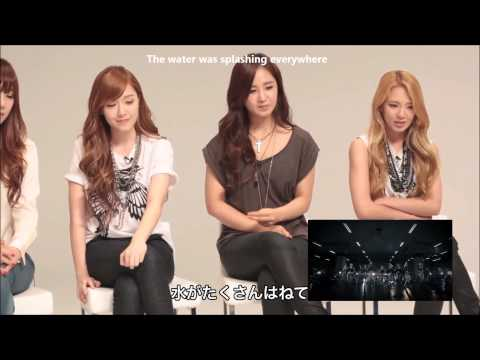 [ENG SUB] 1080p HD 120928 SNSD's Reactions to Bad Girl MV