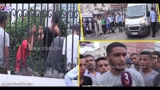 فيديو جد مؤثر..عندو الباك و قتلو صاحبو بسبابفتاةأمام ثانوية بسيدي مومن بالبيضاء+تصريحات |