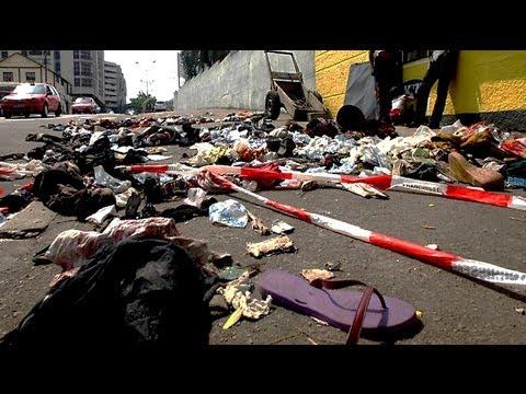 Nigeria church stampede: at least 24 dead