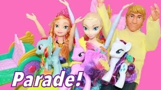 MLP FROZEN Princess Celebration Cars Twilight Sparkle
