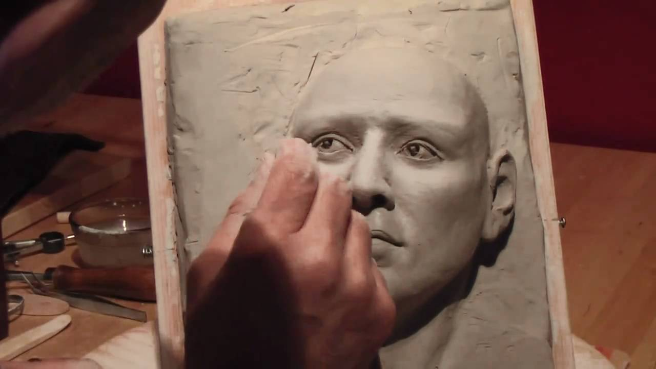 3d drawing with clay 5 youtube for 3d clay mural painting
