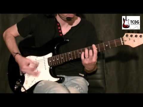 Como tocar Blues en guitarra eléctrica - 03 Ritmo básico de Blues TCDG