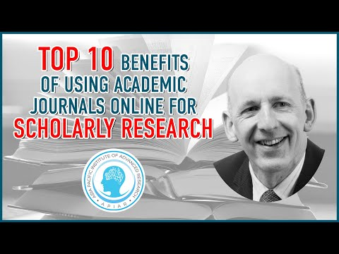 Top 10 Benefits of Using Academic Journals Online for Scholarly Research