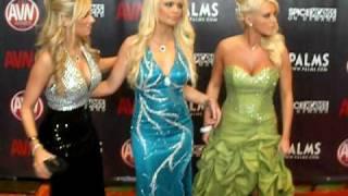 AVN AWARDS Red Carpet 2010 - Bree Olson, Teagan Presley, Alexis Ford, Evan Stone view on youtube.com tube online.