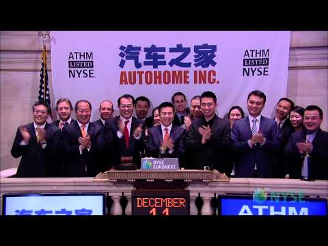 China's Autohome Lists IPO on the NYSE