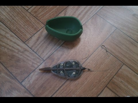 фидерная рыбалка на флэт кормушки видео