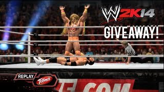 WWE 2K14 Ultimate Warrior DLC Code Giveaway!!! (Xbox 360