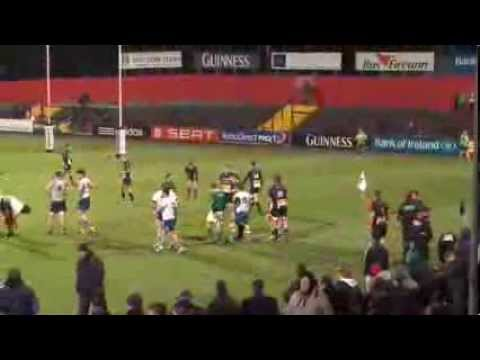 Irish Rugby TV: Ulster Bank League: Dolphin v Cork Con - Second Half