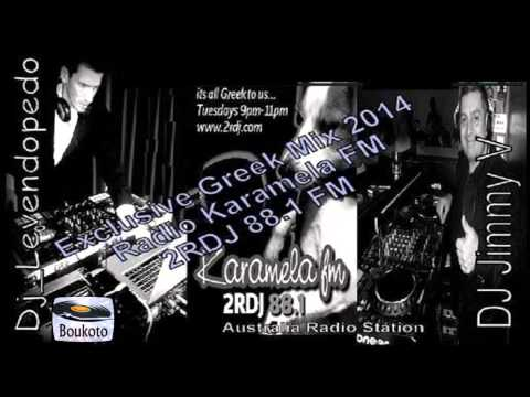 Dj Levendopedo & DJ Jimmy V - Exclusive Greek Mix (Karamela FM 2RDJ 88.1 2014)