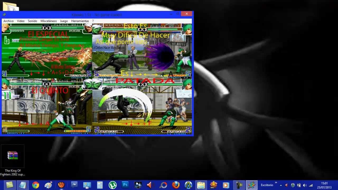Descargar the king of fighters 2002 magic plus 2 para pc