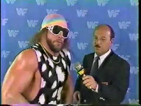 Macho Man Randy Savage Interview (07-18-1987)