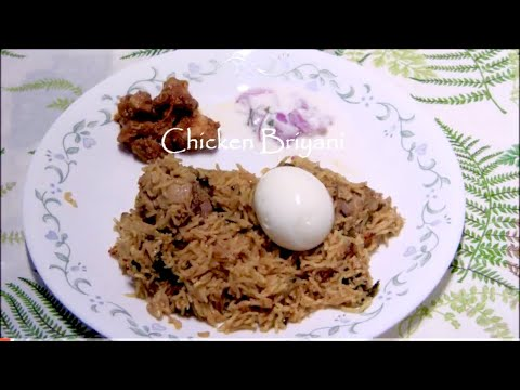 Easy Chicken Briyani
