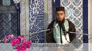 Muslimtv 4e Ramadan uitzending juli 2013