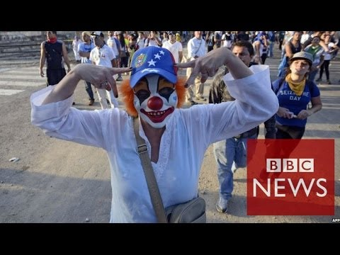 Venezuela protests explained in 60 seconds - BBC News