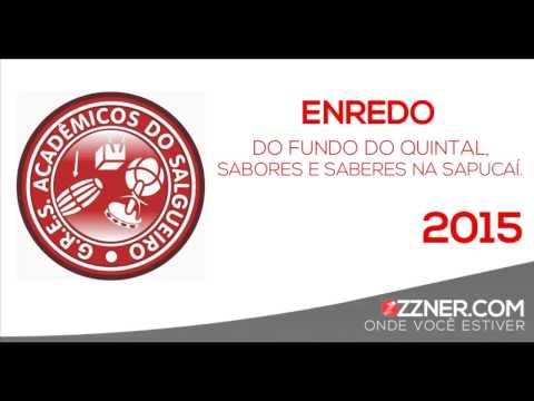 SAMBA ENREDO SALGUEIRO 2015 PARCERIA XANDE DE PILARES