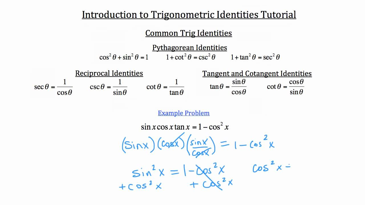 trig sheet 1 essay