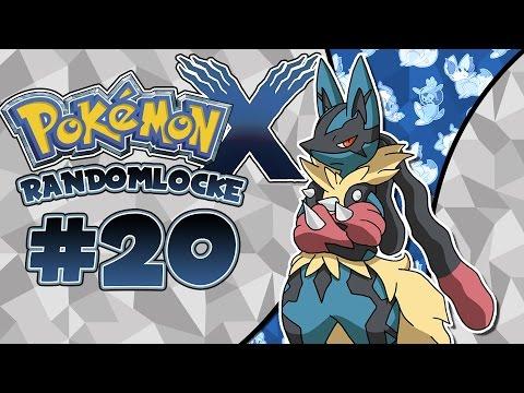 Pokémon X Randomlocke Ep.20 - MEGA EVOLUCIÓN RANDOM!!