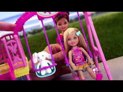 Đồ chơi búp bê Barbie cầu tuột