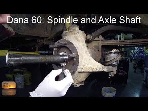 Dana 60 Axle: Spindle and Axle Shaft Removal How-To